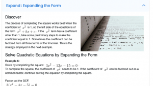 MATH 1203: College Algebra