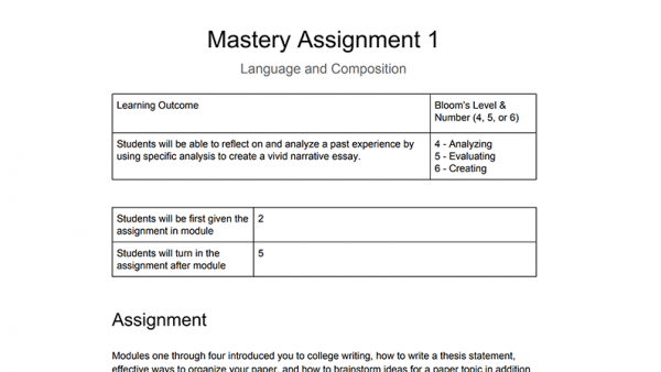 ENG 1303: Language and Composition