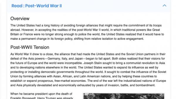 HIST 2203: United States History II